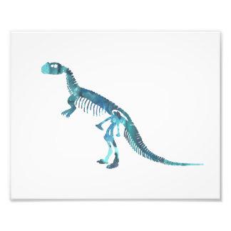 esqueleto do ceratosaurus impressão de foto