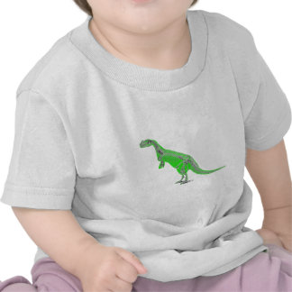esqueleto do ceratosaurus tshirt