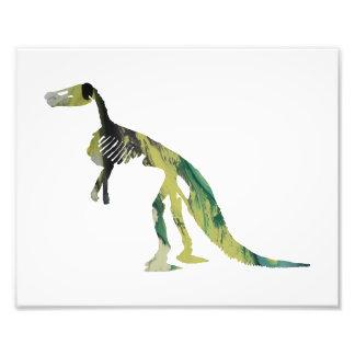 esqueleto do claosaurus impressão de foto