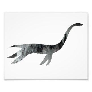 esqueleto do plesiosaur impressão de foto