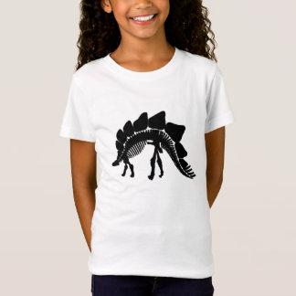 esqueleto do stegosaurus camiseta
