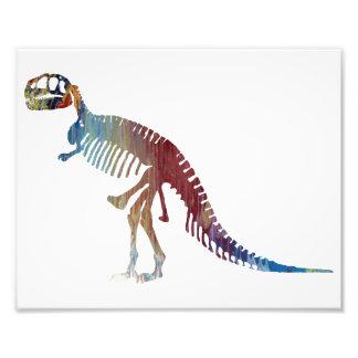 Esqueleto do tiranossauro impressão de foto