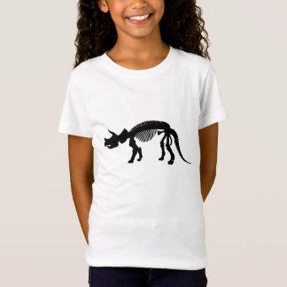 Esqueleto do Triceratops Camiseta