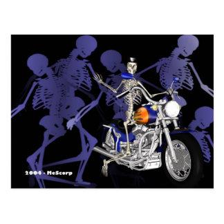 Esqueleto no interruptor inversor - cartão