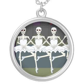 Esqueletos fêmeas de dança bijuterias personalizadas