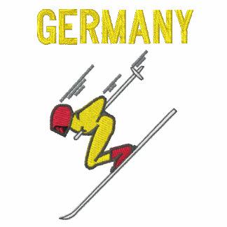 Esqui Alemanha - customizável Camisa Polo