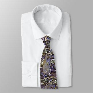 Esquilo à terra dos desenhos animados do laço dos gravata
