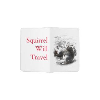 Esquilo Capa Para Passaporte