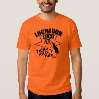 Esquilo mexicano Paco da luta T-shirt