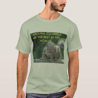 Esquilos de Carolina Camiseta