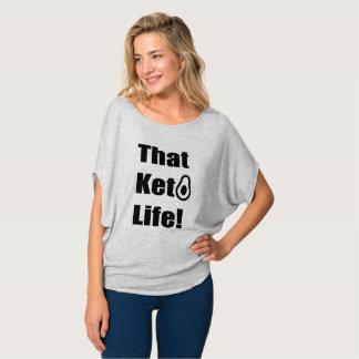 """""""Essa vida do Keto! Das """"A camisa mulheres"""