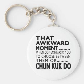 Esse momento inábil Chun Kuk faz o design Chaveiros