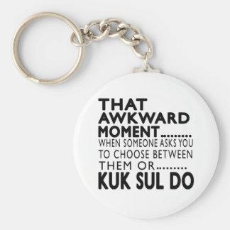 Esse momento inábil Kuk Sul faz o design Chaveiros