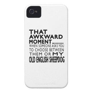 Esse Sheepdog inglês velho do momento inábil iPhone 4 Capas