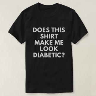 Esta camisa faz-me o diabético do olhar?