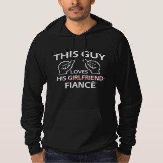 Esta cara ama seu noivo moletom