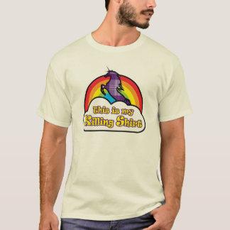 Esta é minha camisa da matança