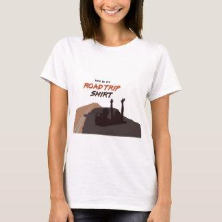 Esta é minha camisa do roadtrip