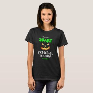 Esta é minha camisa pré-escolar assustador do