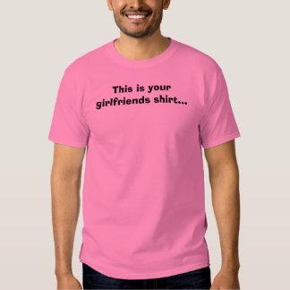 Esta é sua camisa dos namoradas… tshirts