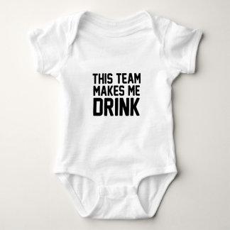 Esta equipe faz-me beber body para bebê