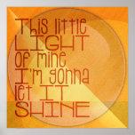 Esta luz pequena de meus inspirados