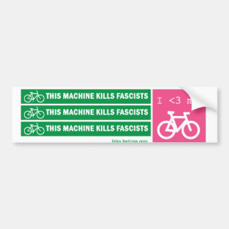 Esta máquina mata fascistas adesivo