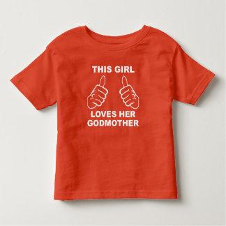 Esta menina ama sua madrinha tshirt