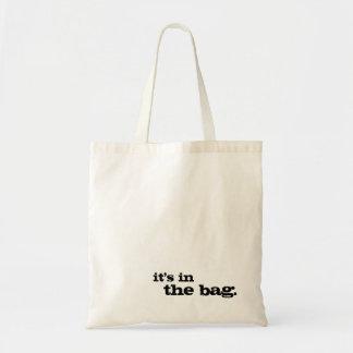 Está na sacola simples bonito engraçada do saco bolsa tote