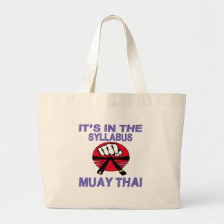 Está no tailandês de Muay do plano de estudos Bolsas Para Compras