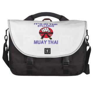 Está no tailandês de Muay do plano de estudos Maletas Para Notebooks
