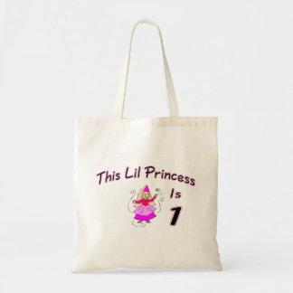 Esta princesa Ser 1 de Lil Sacola Tote Budget