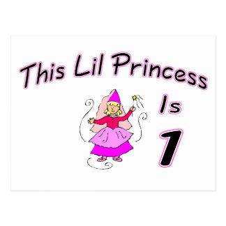 Esta princesa Ser 1 de Lil Cartão Postal