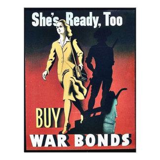 Está pronta, compra demasiado ligações de guerra panfleto coloridos