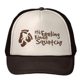 Está sentindo o tipo do chapéu do camionista de Sq Boné