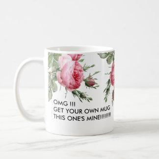 Esta sua caneca de café engraçada da mina