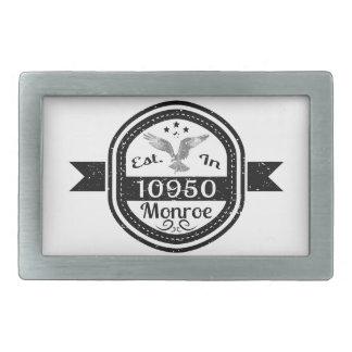 Estabelecido em 10950 Monroe
