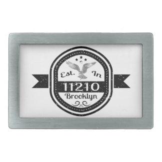 Estabelecido em 11210 Brooklyn