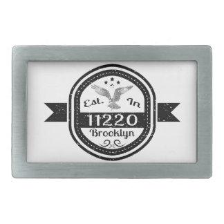 Estabelecido em 11220 Brooklyn