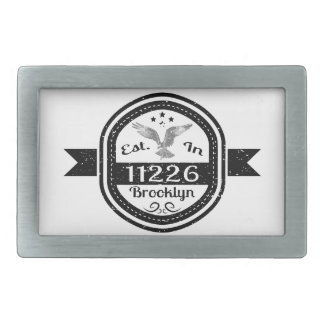 Estabelecido em 11226 Brooklyn