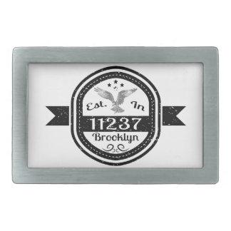 Estabelecido em 11237 Brooklyn