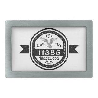 Estabelecido em 11385 Ridgewood