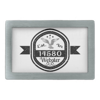 Estabelecido em 14580 Webster