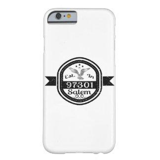 Estabelecido em 97301 Salem Capa Barely There Para iPhone 6