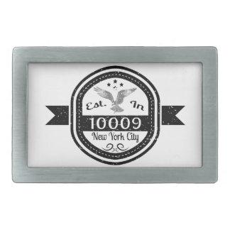 Estabelecido na Nova Iorque 10009