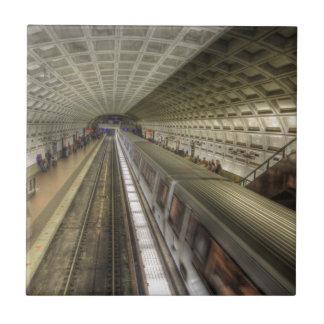 Estação de caminhos-de-ferro do metro do