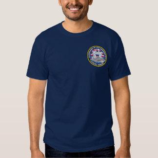 Estação Kauai Havaí da guarda costeira T-shirt