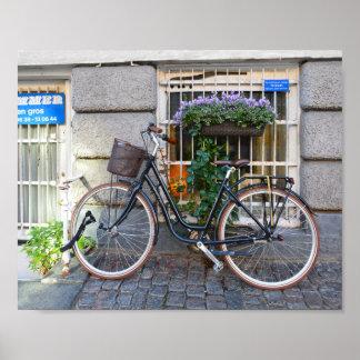 Estacionamento proibido, Copenhaga da bicicleta, Pôster