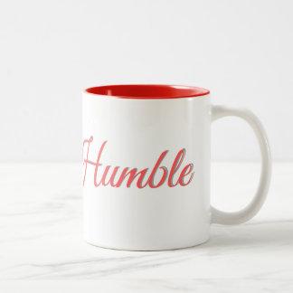 Estada humilde - caneca de café