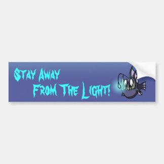 Estada longe da luz! adesivo para carro